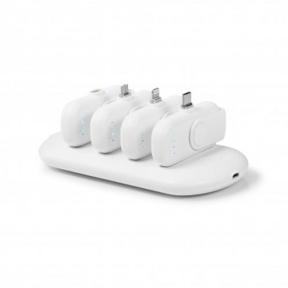4 CHARGEURS NOMADES POWER STATION