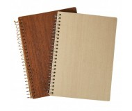 CAHIER SPIRALE A5 COUVERTURE RIGIDE WOODNOT