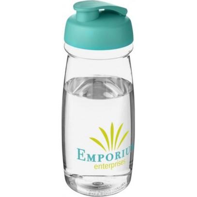 BOUTEILLE DE SPORT H2O PULSE® 600ML AVEC COUVERCLE A CLAPET