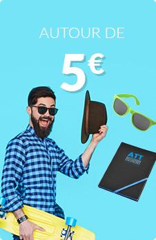 Autour de 5€